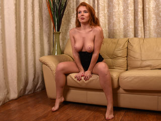 RedIvyForYou Marvellous Big Tits LIVE!-Sexy foxy - fire and