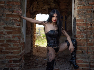 Webcam model SelenneNoir from Web Night Cam (LiveJasmin)